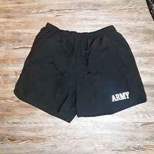 US Army PT Trunks Shorts Physical Fitness Uniform